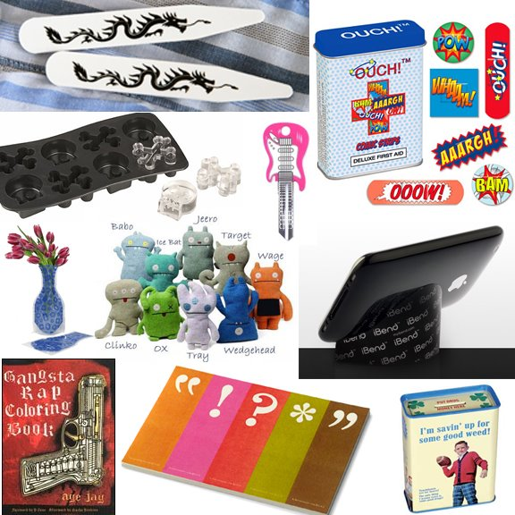 Cool Stocking Stuffers 10 hip stocking stuffers for under $10.00 - if it's hip, it's here