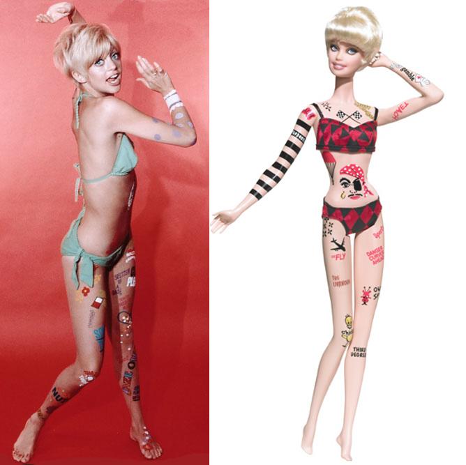 Indri barbie tattoo