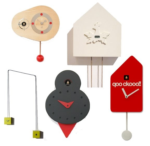 If it 39 s hip it 39 s here cuckoo for cuckoo clocks many modern versions of the traditional - Contemporary cuckoo clock ...