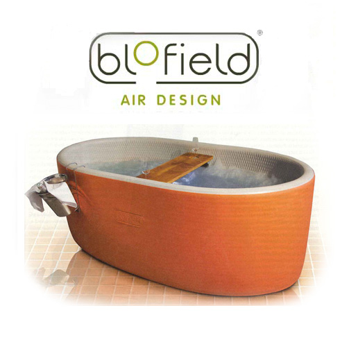 The Bubble Blo, New Inflatable Jacuzzi Tub From Blofield.