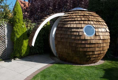 here archives the archipod round and radical prefab office space