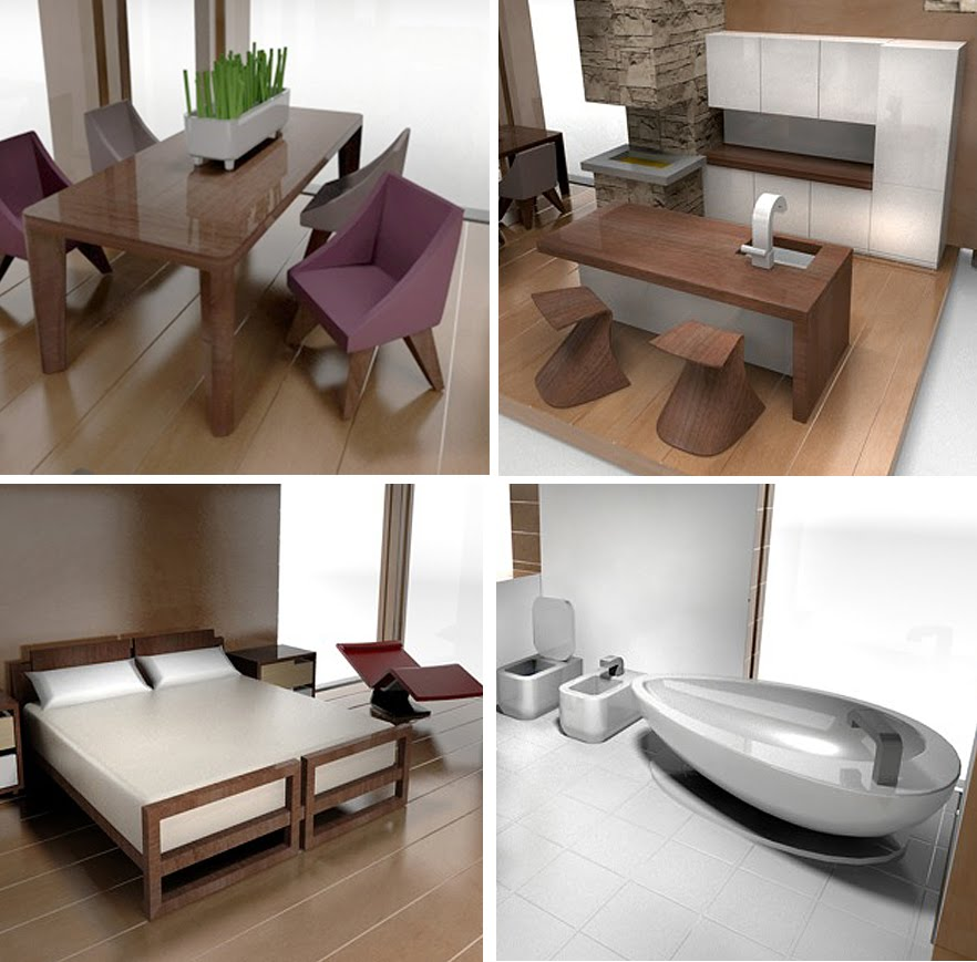 Modern Dollhouse Furniture The Image
