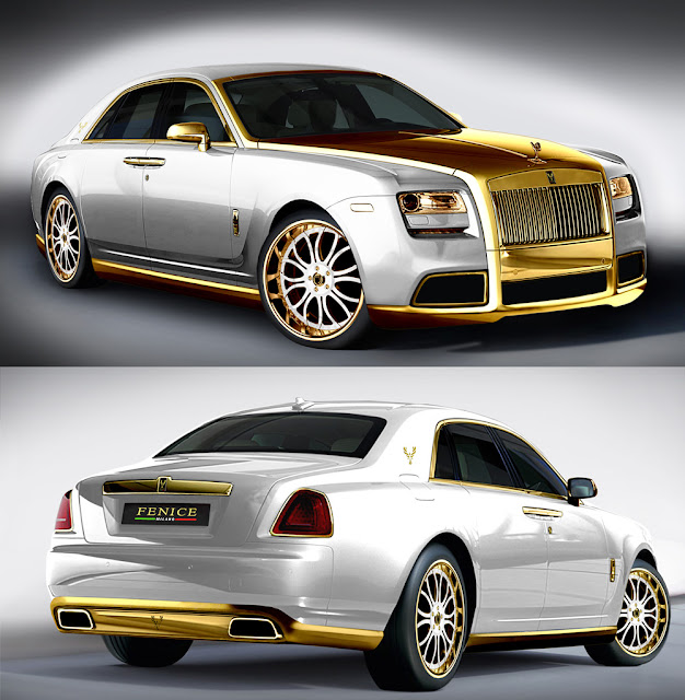 White Rolls Royce Wraith 2016: The Fenice Rolls Royce Ghost Diva Is Bold. Even For A Baller