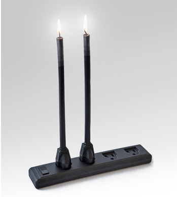 Power Burn. Wax Power Cord Candles With Wax Power Strip Base Seen  On www.coolpicturegallery.us
