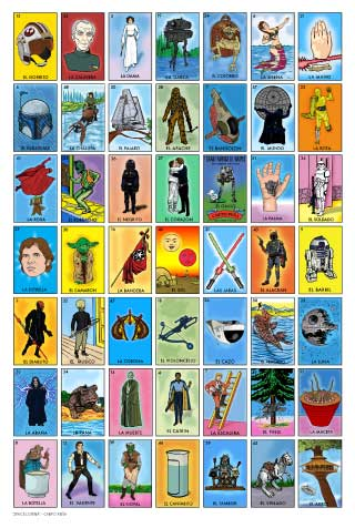 Soft image within loteria cards printable
