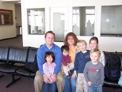 Welcome Home Hunsaker Family of Seven!
