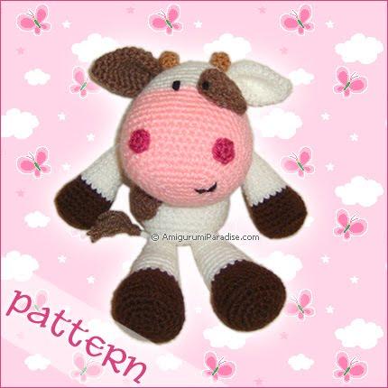 Crochet Cow Hat Pattern - Shop for Crochet Cow Hat Pattern - Stylehive