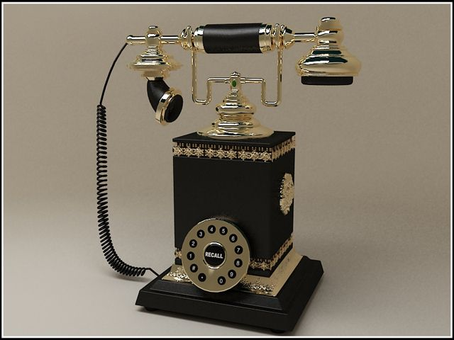 Old Telephone02 - Life Style & Fashion Comp January 2012