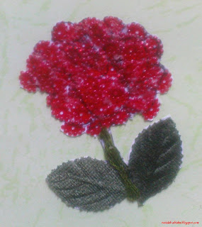 Make Flower Bead Patterns © 2009 by Rosidah Abidin