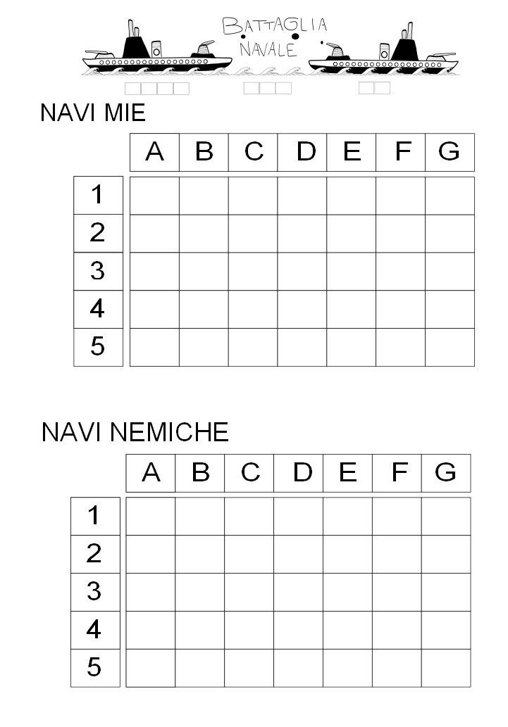 Tempo Libero Battaglia Navale Naval Battle Seeschlacht