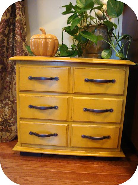 Yellow Distressed Furniture
