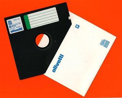"Floppy disk Olivetti da 5.25"""