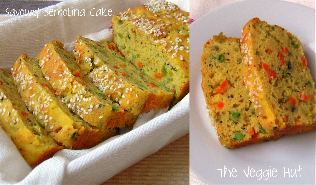 The veggie hut savoury semolina cake the veggie hut forumfinder Gallery