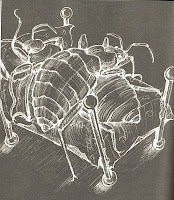 Illustration from p.74, two bedbugs.