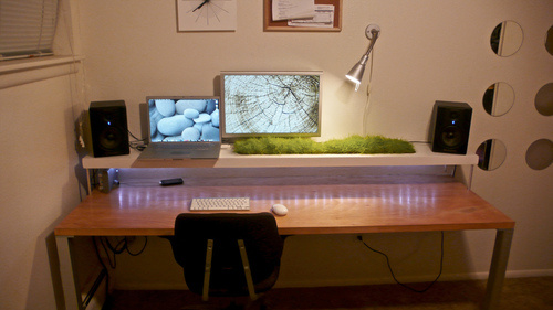 Brighton Beach Home Cretive Design Interior Computer Room