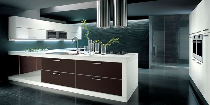 Home design interior decor home furniture for Contemporary kitchen style