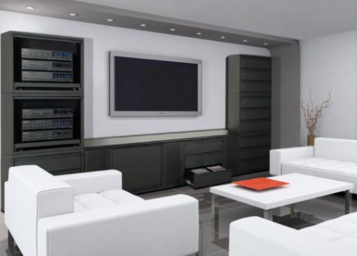 Home Theater Room Design Furniture