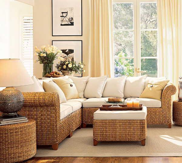 Seagrass Sectional Sofa Furniture Design