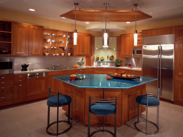 Designer Kitchen Island