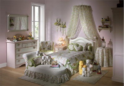 Modern and Beautiful Heart Theme Teen Girls Bedroom Decorating Ideas trend ...