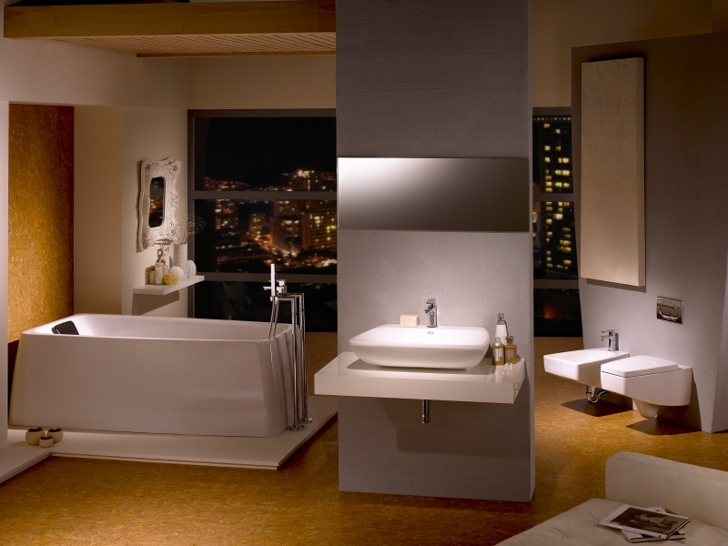 Brighton beach luxury bathroom design 2011 by jacuzzi for Bathroom ideas jacuzzi