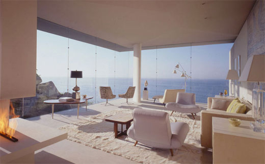 Contemporary Minimalist Beach House Interior Design 2011 By Casa