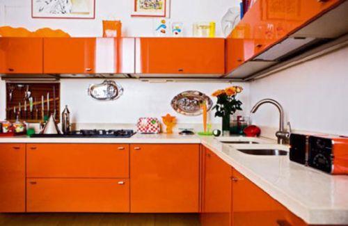 bright color kitchen design ideas 2011 a unique looking kitchen