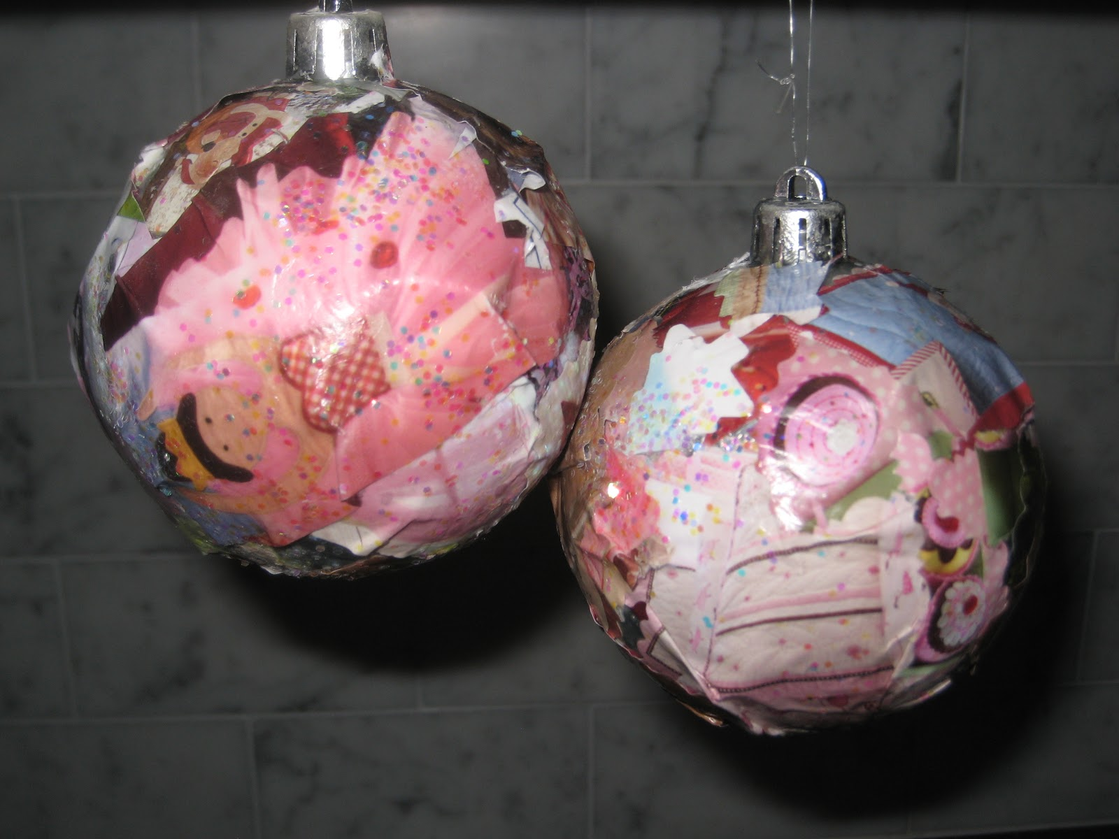 Glass craft ornaments - They Aren T Necessarily The Prettiest Ornaments But To The Kids They Are Beautiful And Isn T That What Really Matters