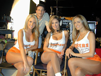 Hooters big boobs girls