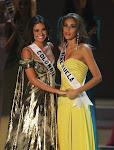 Momento final Miss Universo 2008.