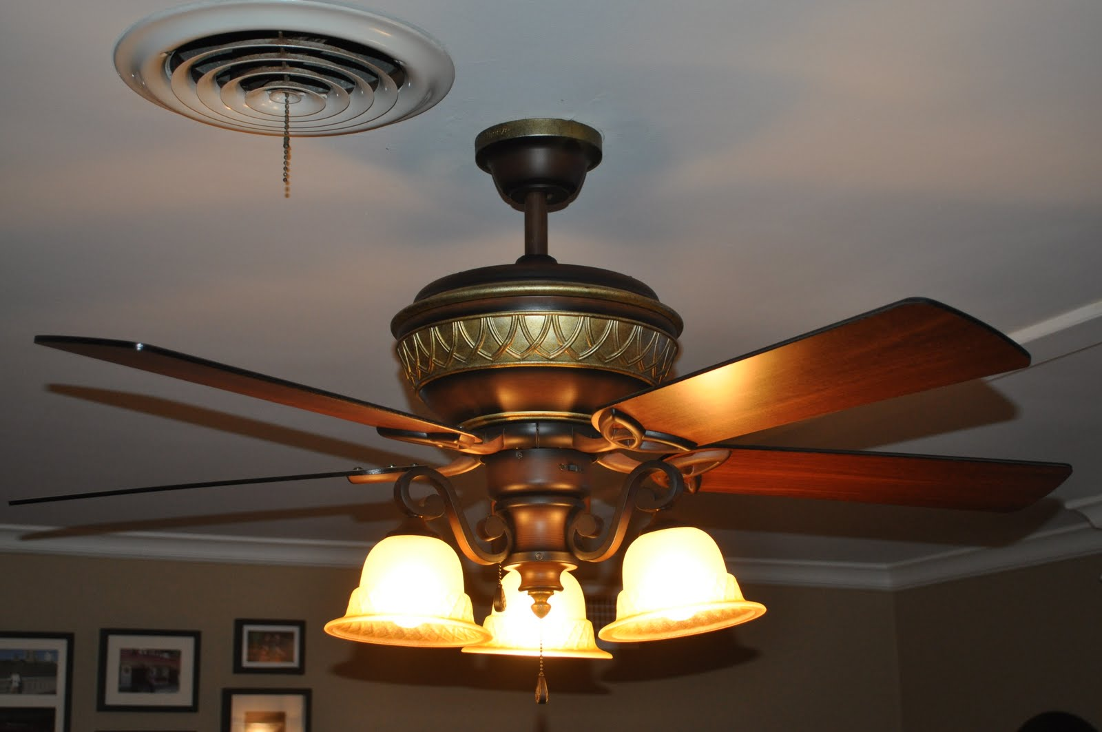 know I took a picture of the pre-existing light fixture but I cannot  title=