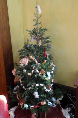 a childrens christmas tree