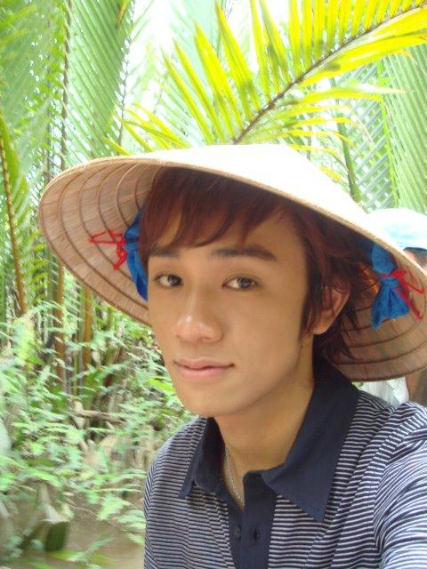 像个越南男孩