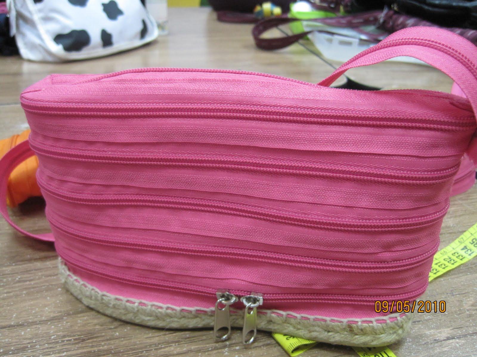 Mis labores curso para hacer bolsos con cremalleras - Bolsos para hacer ...