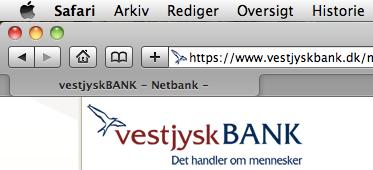 1 Problemer med din Vestjysk Bank?