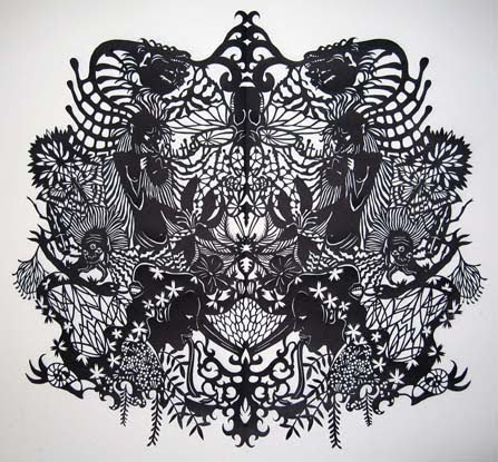 Vintage Lace Drawing