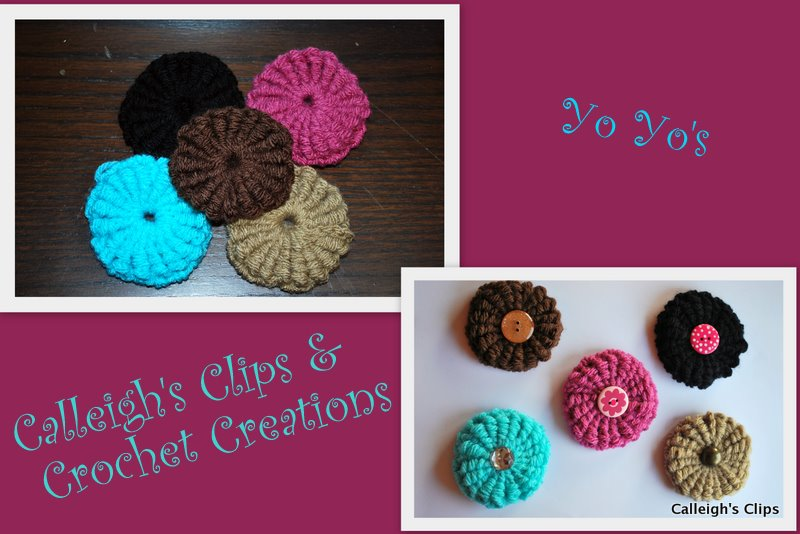 Crocheting Yo : YO YO CROCHET PATTERNS - Easy Crochet Patterns