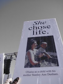 US Pres. Obama&#39;s Mom Chose Life