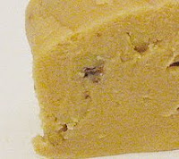 Closeup of a piece of penuche.