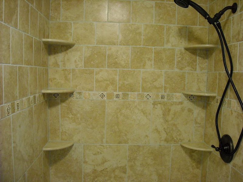Tile Shower Corner Shelf