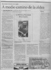 Articulo de Gabriel Castro Rodríguez  El Mercurio de Valparaíso  Domingo 17 de octubre 2004