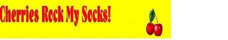 Cherries Rock Kelly J's Socks