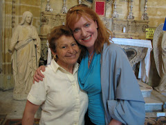 Lisa and Lisa the lacemaker of Malta...