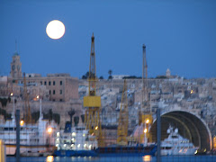 Moon over Malta