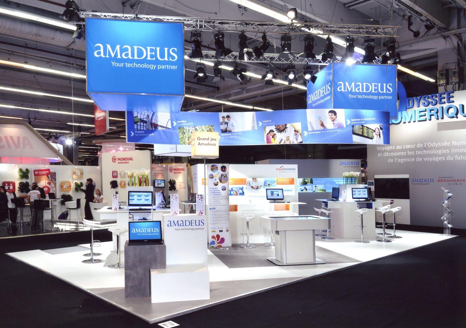 Design de l 39 v nement amadeus sur le salon iftm top r sa 2010 for Salon top resa