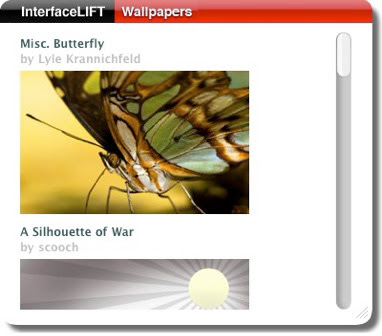 interfaceliftcomwidget 20070608170356 Widget Leopard : Des Wallpapers A Volonté