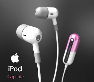 ipdcp01 iPod Capsule : Une Dose dEcouteurs
