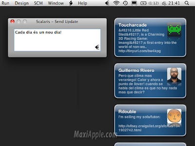 Scalaris Mac OSX Scalaris Mac OSX : Client Twitter Minimaliste (gratuit)