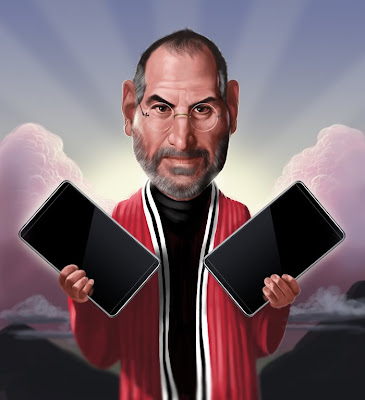  Steve Jobs Sacralis par Dale Stephanos (image)