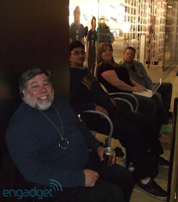 ipad steve wozniak ny 1 Sortie de liPad : Steve Wozniak Fait la Chaine Aussi (images)